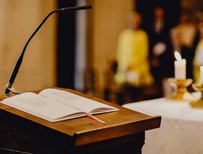 Hinweise zu den Gottesdiensten